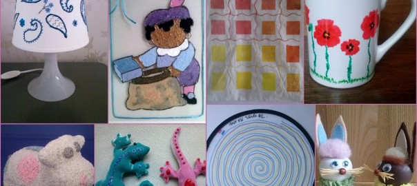 Creatieve kinderclub knutselen