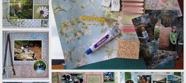 scrappen foto's plakken workshop