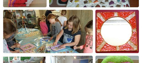 Creatief kinderfeestje thuis of in Ermelo