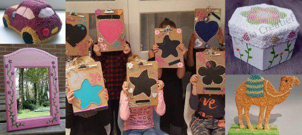 Creatief kinder-feestje thuis of in het atelier in Ermelo