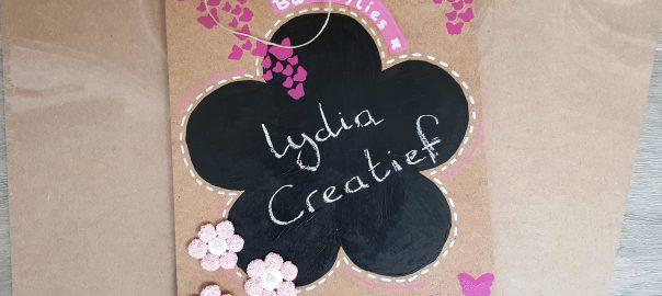 Creatief feestje voor kinderen krijtbord maken